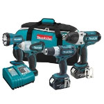Makita 18 Volt LXT Lithium Ion Automotive Combo Kit