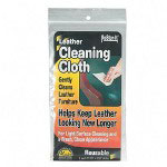 Master Caster Leather cleaning cloths, two 11 3/4 x 6 1/2.