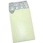 "Master Mfg A-Z Numerical Metal Index Tabs for 6"" x 9"" Forms"