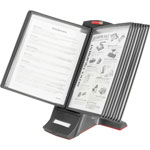 Master Mfg Modular Desktop Reference System with Sleeves & Tabs, 12w x 9 1/2d x 14 1/2h