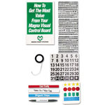 Magna Visual Accessory Kit for Magnetic Boards, Assorted