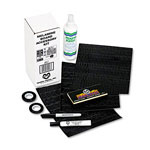Magna Visual Accessory Kit: Melamine Boards: Tape, Ltrs/Nos., Markers, Eraser, Cleaner, Guide