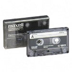 Maxell COM120 audio cassette tape, 120 minutes