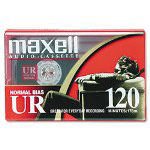 Maxell Standard Grade Audio Cassette Tape, 120 Minutes (60 x 2)