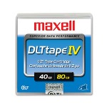 Maxell DLT IV Tape Cartridge, 20/40GB (DLT4000), 35/70GB (DLT7000), 40/80 (DLT8000)