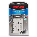 Maxell Cassette Adapter for iPod/MP3/CD Players