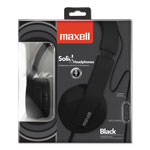 Maxell Maxwell Solid2 Headphones, Black