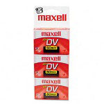 Maxell Mini DV Video Cassette, 60 Minutes