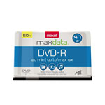 Maxell 4.7 GB DVD R, 16x, 50/Pack