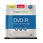 Maxell DVD R, 4.7GB, Single Sided, Spindle, Gold, 100/Pack