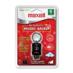 Maxell Drive, Flash, Music, 8GB, Black