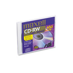 Maxell Compact Disc, Rewritable, 4 12X Speed, 700MB/80MIN