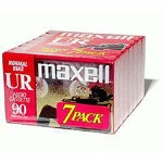 Maxell 90 Minute Audio Cassette Tape