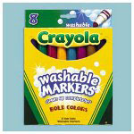 Crayola Washable Markers, Tropical Colors