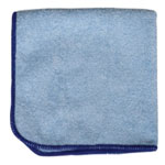 "Microfiber and More Detailer's 12""x12"" Blue Microfiber Cloth, Bag of 12"