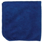 "Microfiber and More Detailer's 16""x16"" Blue Microfiber Cloth, Bag of 12"