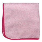 "Microfiber and More Detailer's 12""x12"" Red Microfiber Cloth, Bag of 12"