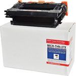 Micromicr MICR Toner Cartridge for HP 37X, 25,000 Page Yield, Black