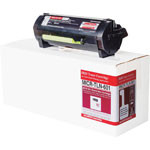 Micromicr MICR Toner, Replacement LEX MX617, 8500 Page Yield, Black