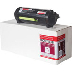 Micromicr MICR Toner, Replacement LEX MX817, 20, 000 Page Yield, Black
