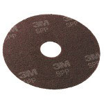 Scotch Surface Prep Pads. 13-Inch, Brown, 10/Carton