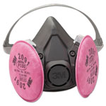 3M Half Facepiece Respirator 6000 Series, Reusable