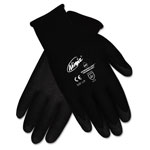 Memphis Glove Ninja HPT PVC coated Nylon Gloves, Medium, Black