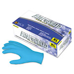 MCR Safety Disposable Powder Free Nitrile Gloves, Large