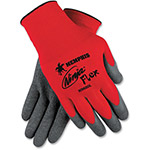 MCR Safety FlexTuff Gloves, 10 Gauge, Cotton/Poly, LG, 12PR/BX, WEBE