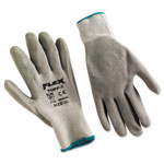 Memphis Glove FlexTuff Latex Dipped Gloves, White/Blue, X-Large, 12 Pairs