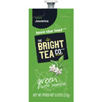 Mars Drinks Bright Tea Green w/Jasmine, 10/CT, Green