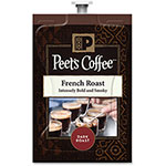 Peet's Coffee French Roast, 72/CT, Brown