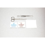 Medline E*Kits Suture Removal Trays Suture, Removal, Mtl Litt Scis, Adson