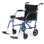 Medline Freedom Transport Wheelchairs - Wheelchair, Transport, Freedom, Blu, Retail