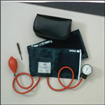 Medline Handheld Aneroid Sphygmomanometers - Aneroid, Hand Held, Child, Neoprene
