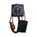 Medline Nite Shift Wall-Mount Aneroid - Aneroid, Wall Mount, Adult Cuff