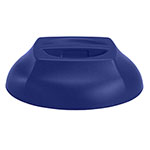 "Cambro Insulated Dome Harbor Collection, Covers 9"" Plates, Navy Blue"