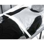 Medline Tie-Back Vest - Restraint, Vest, Tie-Back, Koolnit Poly, Sm