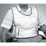 Medline Slipover Vest - Restraint, Vest, Slipover, Koolnit, Medium, 6Cs