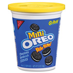 Nabisco Mini Oreo Cookies, Portable Cups, 3.5oz., 8/CT