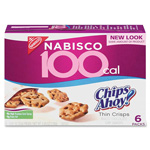 Nabisco 100 Calorie Snack, Chips Ahoy, .74 oz., 6 Pks/Box