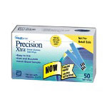 Medisense - Abbot Labs Precision Extra End Fill Test Strips, 50 per Box