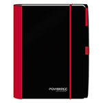 Cambridge Accents Business Notebook, 8 1/4 x 11, Legal Rule, Red Cover, 100 Sheets