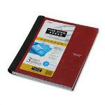Mead Wirebound 3 Subject College Rule Pocket Notebook, 11x8 1/2, 150 Sheets