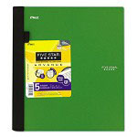 Mead Wirebound 5 Subject College Rule Pocket Notebook, 11x8 1/2, 200 Sheets