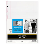 Mead Reinforced Filler Paper, 3 Hole, College Ruled, 11 x 8 1/2