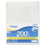 Mead Notebook Filler Paper, College Ruled, 11 x 8 1/2, 200 Sheets/Pack
