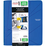 "Mead Zipper D-Ring Binder, 1 1/2"" Capacity, Assorted Colors"