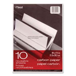 Mead Black Carbon Mill Finish Paper, 8-1/2 x 11, 10 Sheets