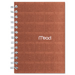 Mead Recycled Notebook, 5 X 7, 80 Sheets, College Ruled, Perforated, Assorted